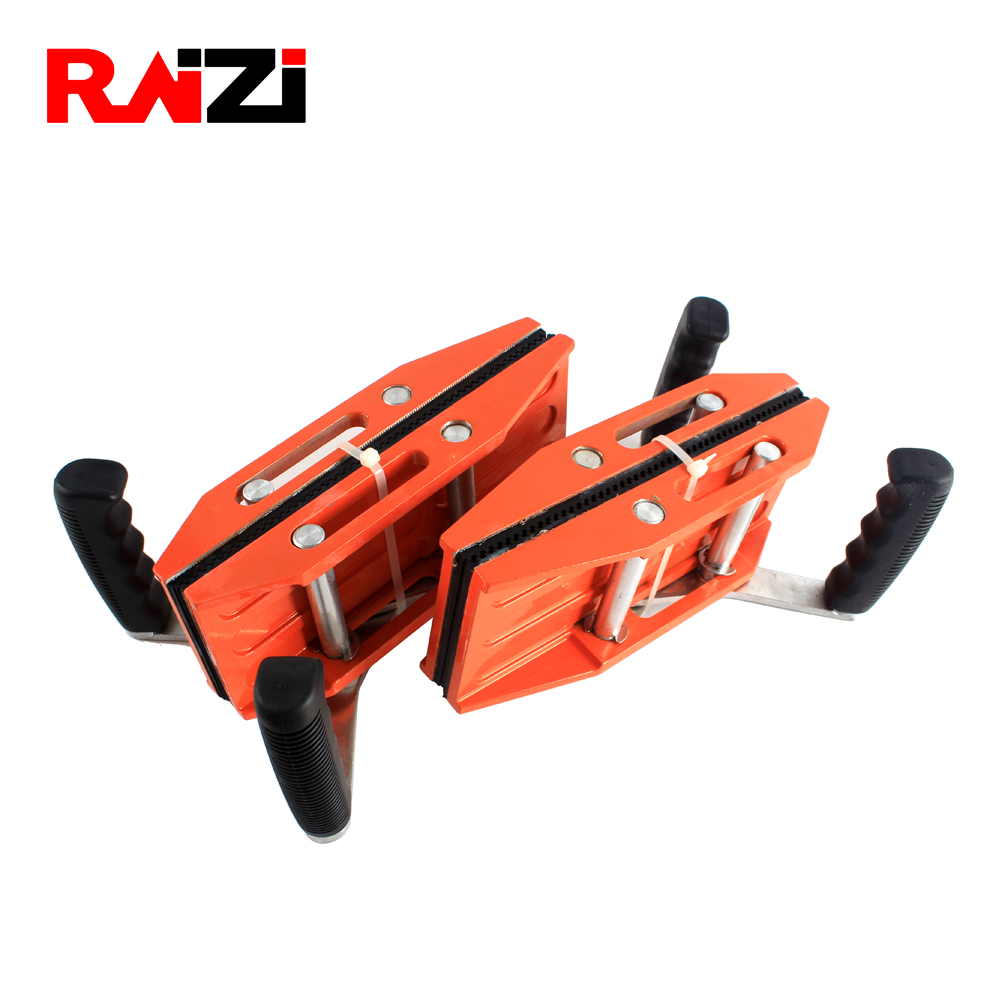 Raizi Double Handed Carry Clamps Grip Range 0-50 mm Glass Granite Stone Carrying Clamp/Tools-1 Pair/ 2 pieces