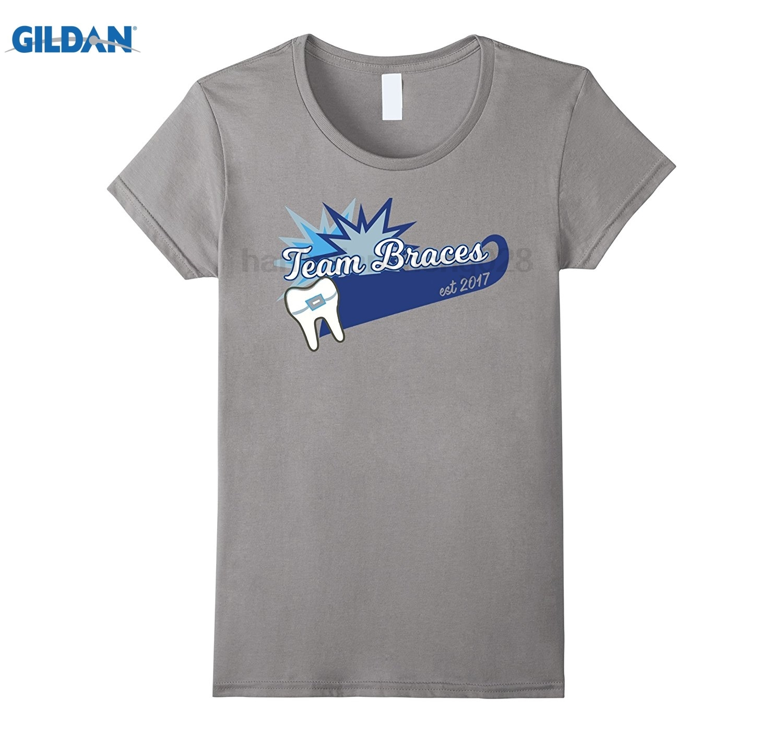 GILDAN Orthodontics Braces Team T-Shirt at Start of Care