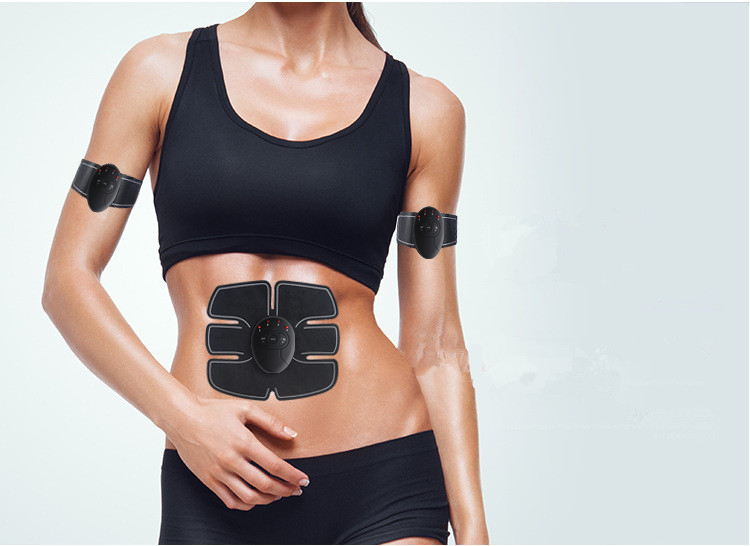Abdominal machine electric muscle stimulator ABS ems Trainer fitness Weight loss Body slimming Massage with soft retail box 2