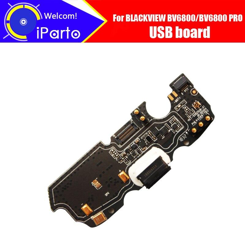 5,7 pulgadas Blackview BV6800 usb board 100% nuevo y Original para conector usb carga de accesorios de repuesto para BV6800 PRO celular teléfono