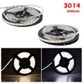 Non/Waterproof Led Strip Light Tape Flexible Ribbon Feed Ruban Bande Fita Tiras Luces Luz Stripe Smd 3014 5M Roll 600 Leds 12V