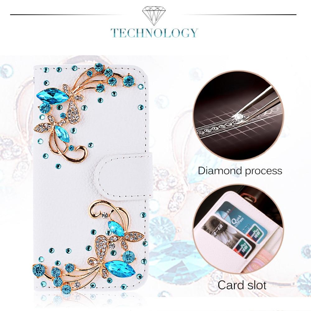 3D ադամանդե ծածկ `iPhone 7 6 6s Plus- ի համար, - Բջջային հեռախոսի պարագաներ և պահեստամասեր - Լուսանկար 4