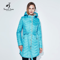 Snowclassic 2017 New Spring Long Jacket Women Coat Spring Autumn Parka Womens