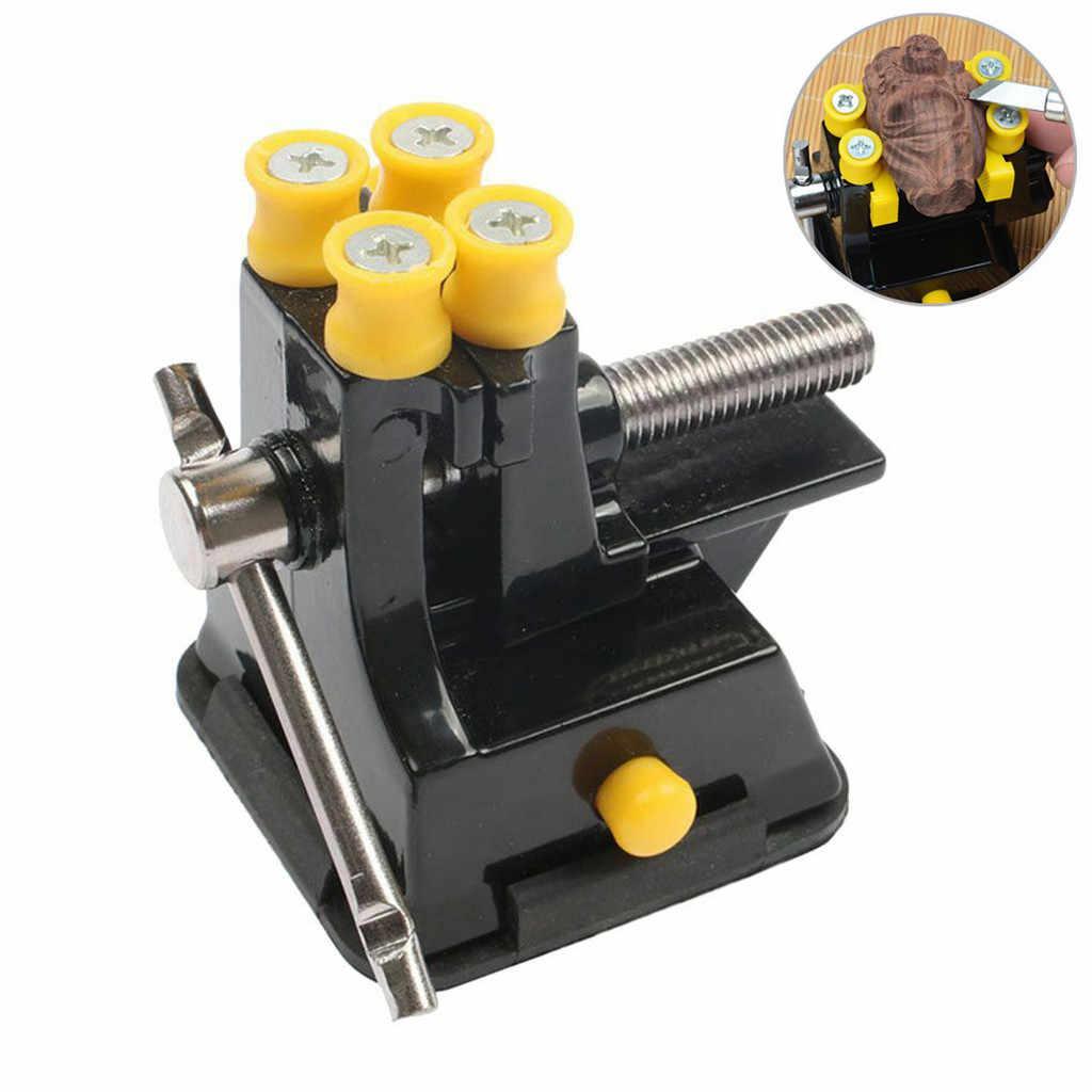 ขายร้อน Jaw แกะสลัก Bench Clamp ดูด Micro Vise คลิป DIY เครื่องมือหัตถกรรมไม้เครื่องมือ Bench Clamp # ew