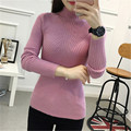 Cashmere Sweater Women Turtleneck Pullover Ladies Sweaters Hot Sale Wool Knitted Sweater Female Warm Tops Sale Clothing
