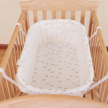 Newborn Baby Cradle Crib Bed Cotton Cloth Baby Basket Hanging Baby Sleeping Crib Infant Baby Bed Balance Haging Rocking Bed