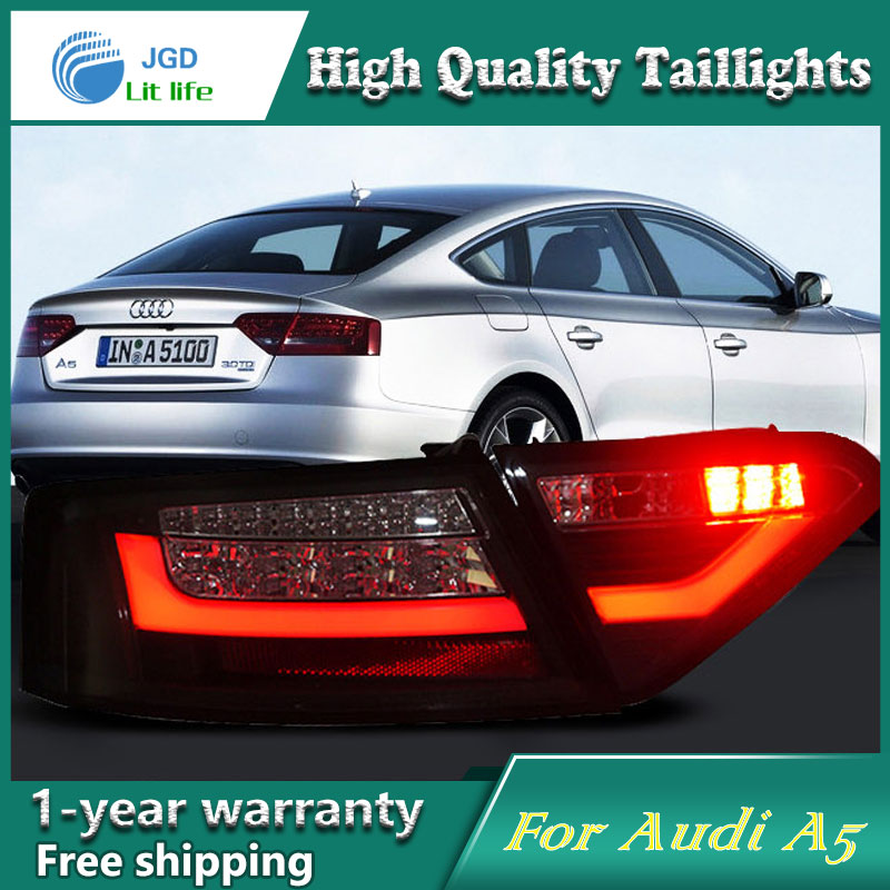 Car Styling Tail Lamp for Audi A5 taillights Tail Lights LED Rear Lamp LED DRL+Brake+Park+Signal Stop Lamp car styling tail lamp for toyota corolla led tail light 2014 2016 new altis led rear lamp led drl brake park signal stop lamp