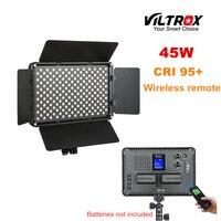 Viltrox VL S192T 45 Вт беспроводной пульт светодио дный лампа двухцветная для камеры стрельба студия YouTube видео Live