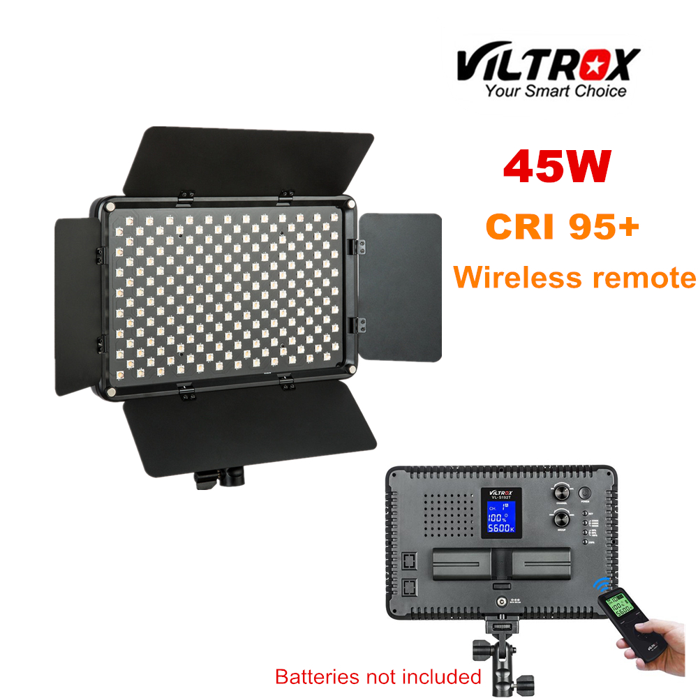 Viltrox VL-S192T 45W Wireless remote LED light Lamp Bi-color for camera photo shooting Studio YouTube Video Live image