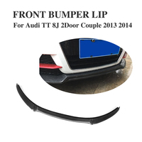 Carbon Fiber front bumper lip Spoiler for For AUDI TT TTS 8J Coupe 2013 2014