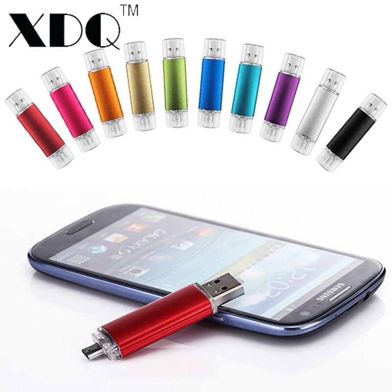 Смарт-телефон USB Flash drive 16 ГБ OTG Мини Pen drive 8 32 ГБ 64 ГБ 128 ГБ Micro USB Flash Drive Смартфон U Диск для Android телефон