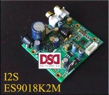 ES9018K2M DAC kurulu I2S GIRIŞ kod çözücü IIS 32bit 384 K/DSD DSD256