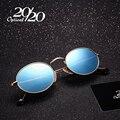 20/20 Marca Clássico Óculos Polarizados Óculos De Sol Dos Homens Das Mulheres designer de marca Do Vintage Oval Pesca Condução Óculos de Sol Unissex