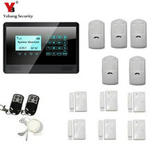 YobangSecurity Wi-fi 433MHZ GSM SMS House Burglar Safety Alarm System Detector Sensor Package Distant Management