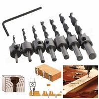 Broaching Bit Drill Guide Woodworking Tools Drill Bit Set Brocas Para Metal Carpenter Wood Tools Tool