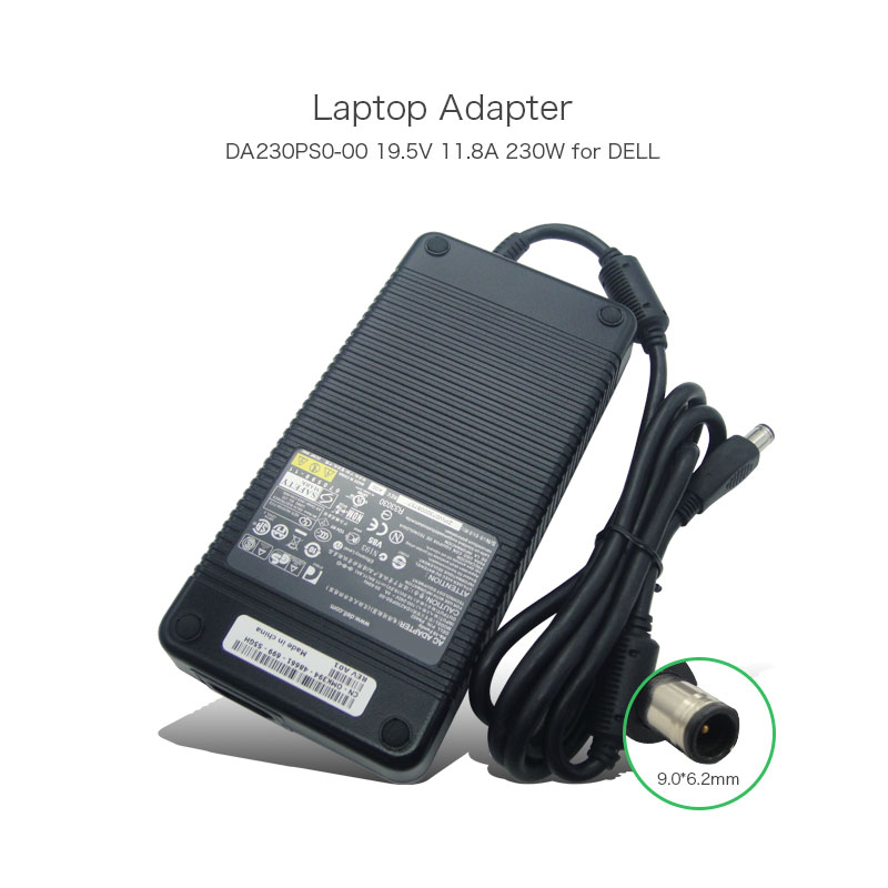 19.5V 11.8A 230W Laptop Power Adapter for Dell Studio M17X M1730 XPS1730 M1735 XPS M1730 PA402 DA230PS0-00 Portable Charger for dell xps m1730 cpu fan ww425 dfs651712mc0t fag6 fan