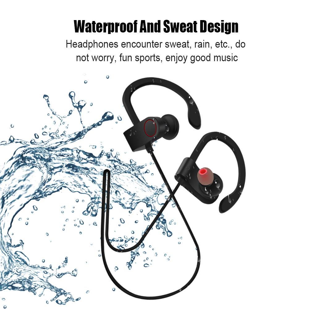 Bluetooth Headphone Wireless Headset Running Sports Earphone Waterproof Handsfree Earbuds Stereo for smartphone with MIC стоимость