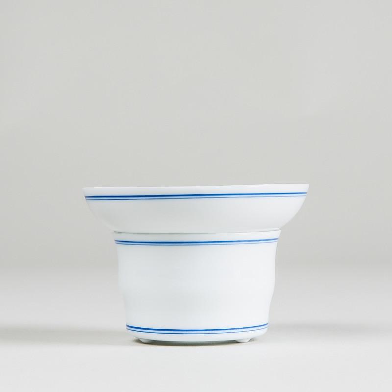 Hand-Painted Blue and white porcelain Ceramic Tea Strainers tea set Tea Infuser filter Kung fu teapot Tea Accessories