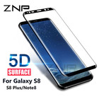 ZNP 5D Curved Full Cover Tempered Glass For Samsung Galaxy S9 S8 Plus S9 Screen Protector Film For Samsung S9 S8 Plus Glass Film