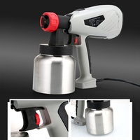 600W High Voltage Electric Spray Gun Paint Sprayer Cake Chocolate Sprayer with Adjustable Flow Control Power Tools