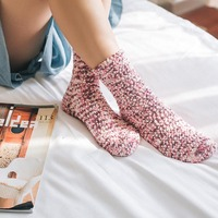 12 Pairs Women Lady Socks Soft Warm Breathable Elasticity Cute Comfortable For Winter MX8