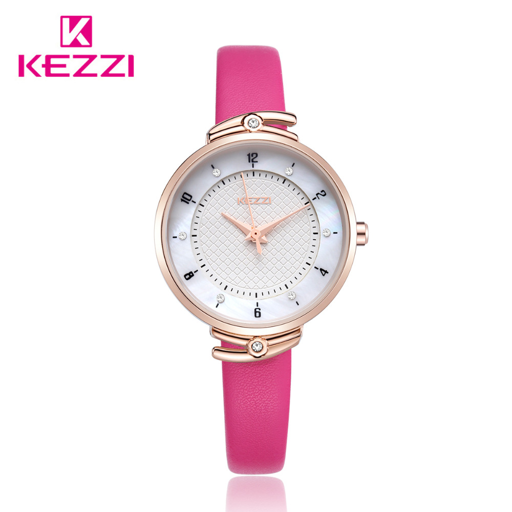 KEZZI Fashion Wrist Watch Women Watches Ladies Luxury Brand Famous Quartz Watch Dress Clock Relogio Feminino Montre Femme 2017 fashion simple wrist watch women watches ladies luxury brand famous quartz watch female clock relogio feminino montre femme