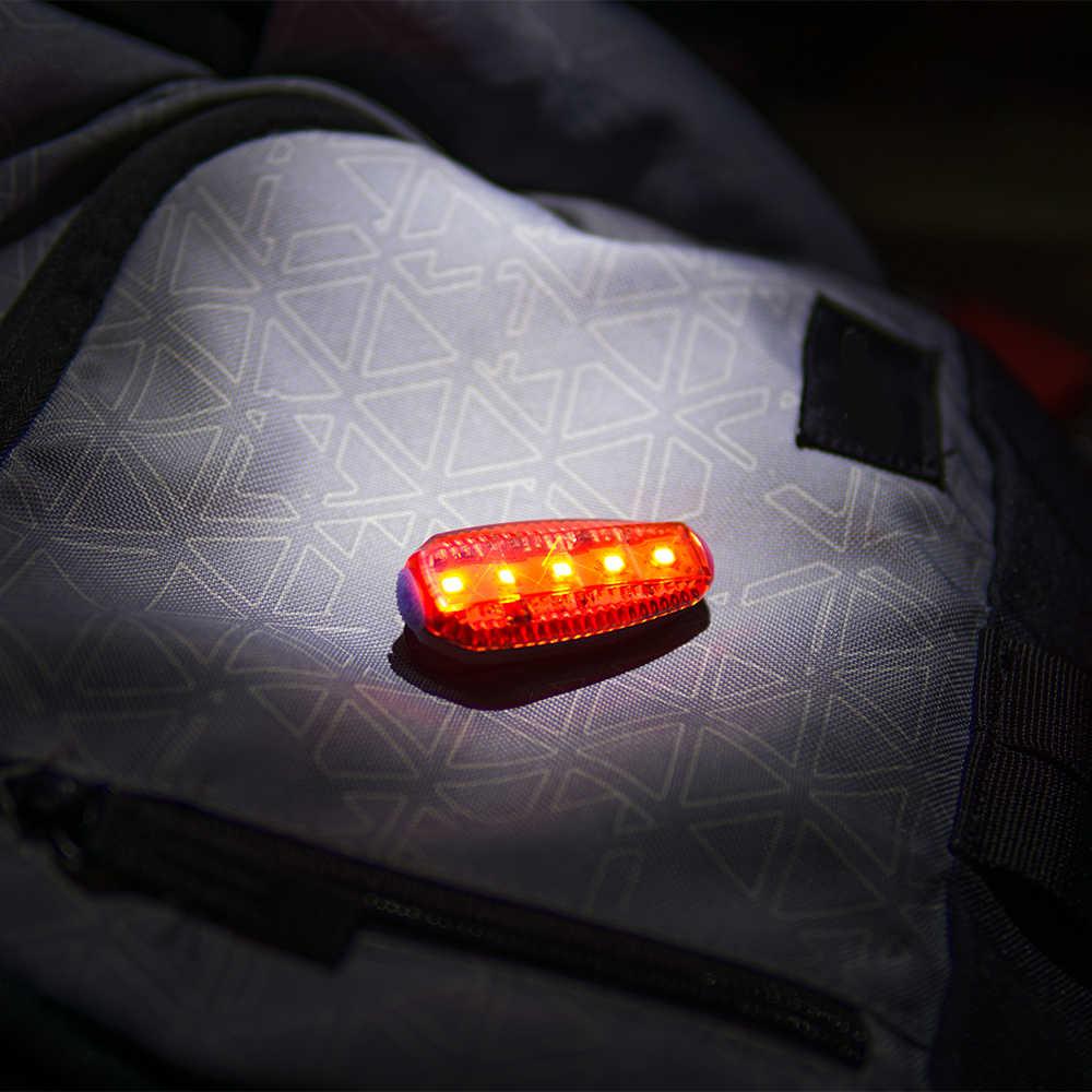 ZTTO USB ליטיום סוללה נטענת כביש הרי אופניים אופני קליפ עמיד למים בטיחות אזהרה אחורי טאיליט ריצה אור WR03
