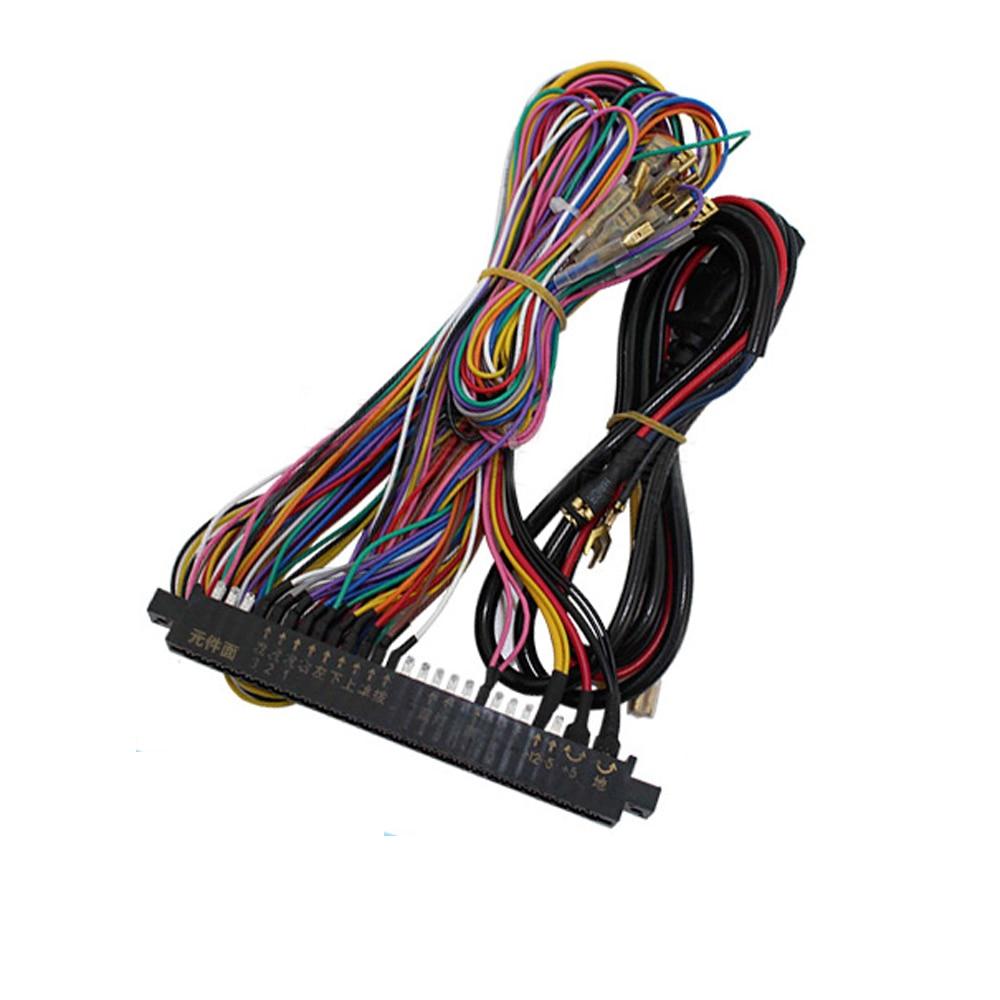 Arcade Parts Jamma Game Wiring  Wiring Harness For Arcade