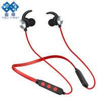 Per la PRIMA volta Cuffie Senza Fili Auricolare Bluetooth Sport Stereo Magnetica Auricolare Bluetooth Auriculars Con Microfono Per Il Telefono