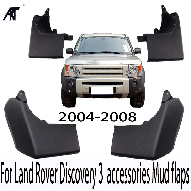 MUDFLAPS FIT FOR LAND ROVER DISCOVERY 3 2004 2005 2006 2007 2008 LR3 MUD FLAP SPLASH GUARD MUDGUARDS FENDER ACCESSORIES