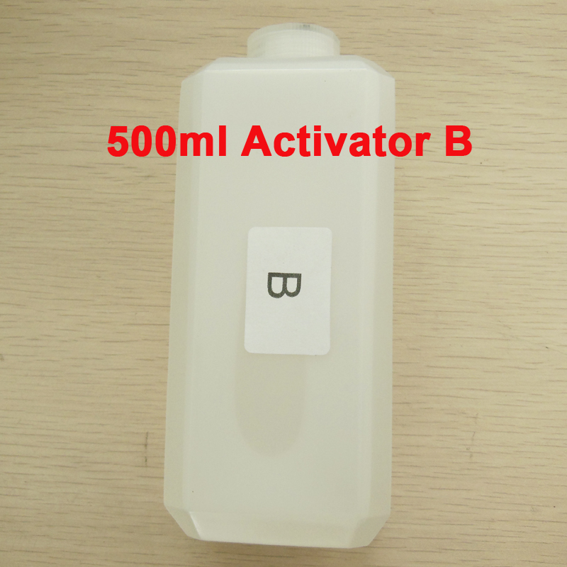 Activator B 500ml for Water Transfer Printing Film trigger for hydrographic film decorative material hydrographic activator 500ml activator b 10 pcs a4 size hydrographic film hydrographic film activator for water printing