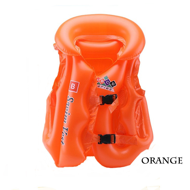 Adjustable Life Vest Swimsuit Child Inflatable Pool Float Children Kids Babies Swimming Drifting boating Safety Jacket