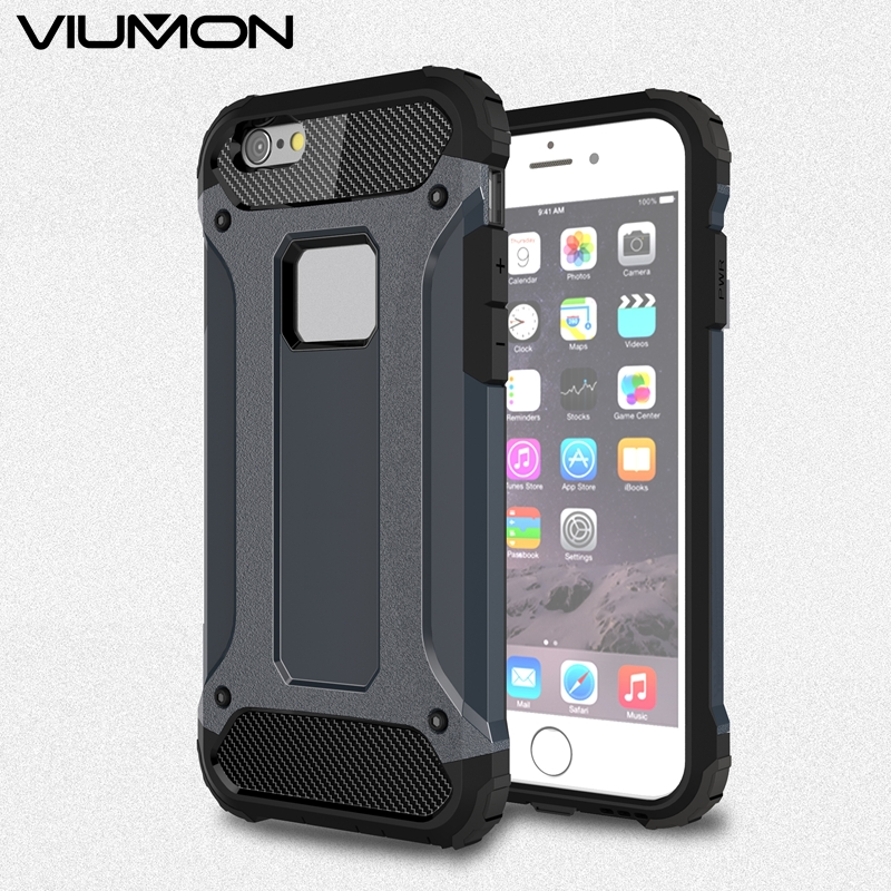 Original Viumon Brand For Apple iPhone 7 Case Coque Full Protect Back Cover Fashion Phone Housing For iPhone 5 5S SE 6 6s 7 Plus