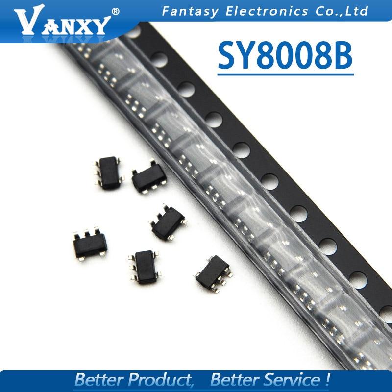 10pcs SY8008B SOT23-5 SY8008BAAC SOT-23 SY8008 SOT New Original