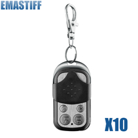 Free Shipping NEW 10pcs 433MHz Wireless Black Metal Remote Alarm High Quality Home Security Alarm FOR