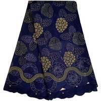 2018 African Dry Lace Fabrics High Quality Cotton Lace Fabric Swiss Voile With Stone Swiss Voile Lace In Switzerland A1046