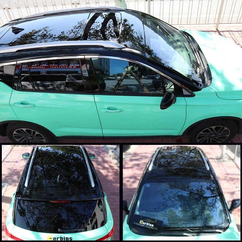 Carbins haute brillance voiture toit autocollant panoramique peinture Protection bricolage Film pour SUV berline JEEP