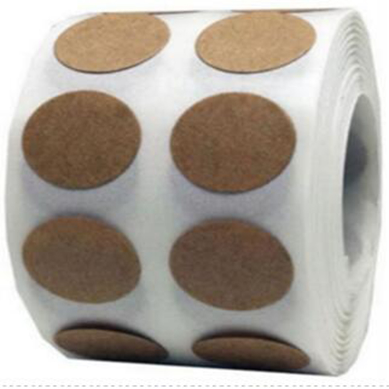 Kraft Paper Coding dot label self adhesive peel and stick Brown Natural Dot Stickers 1 Inch Round Circle Color Coding Labels in Wallpapers from Home Improvement