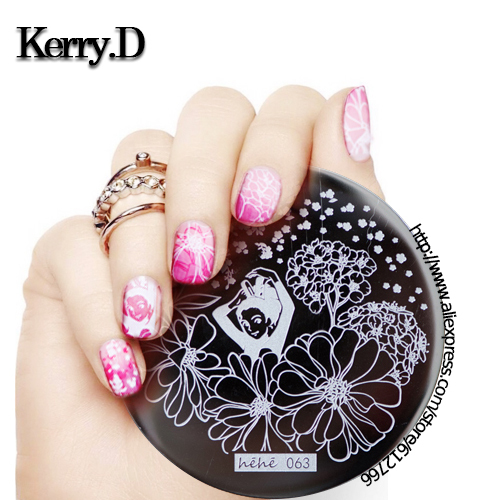 NEW ARRIVED -hehe01 to hehe72stamping nail art image  for choosing  template stamping nails&tools nail stamp