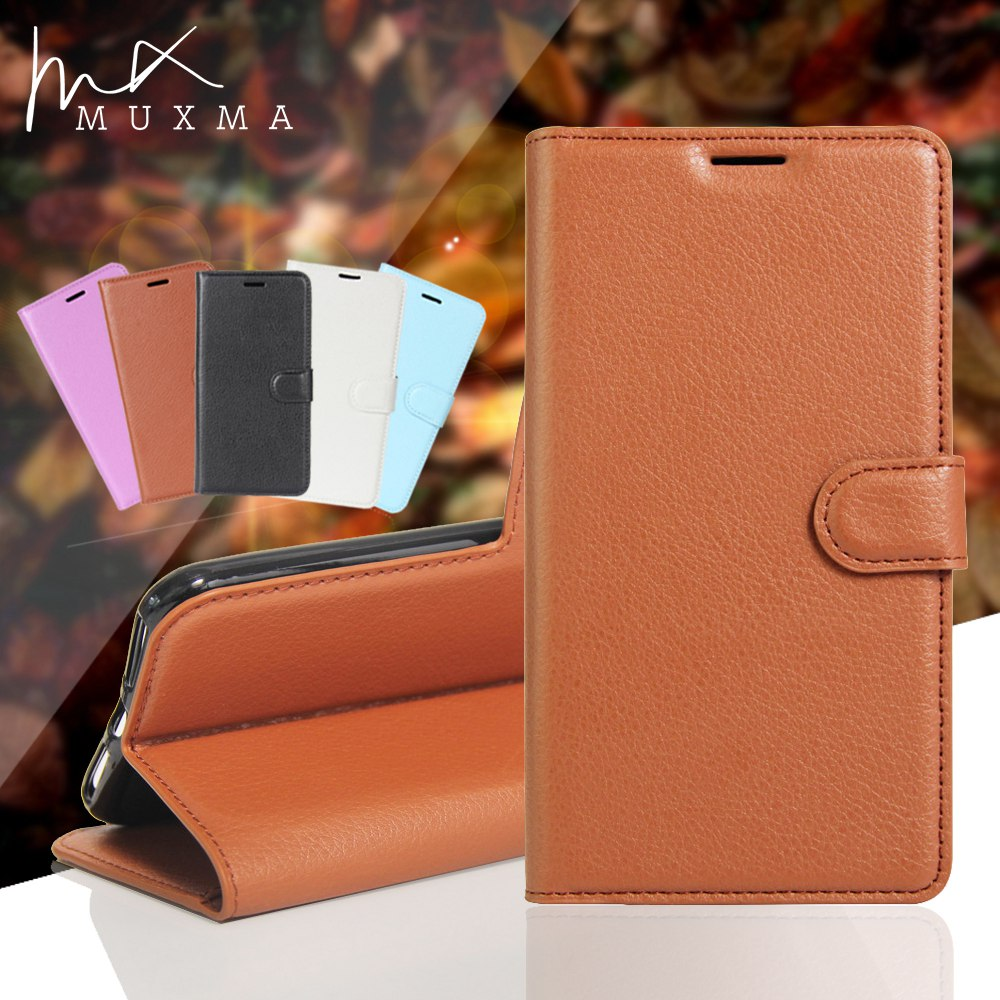 MUXMA Luxury PU Leather Cover For Xiaomi Redmi Y1 Note 5A Global Wallet Case Magnetic Flip Fundas Cards Slots Mobile Phone Cases
