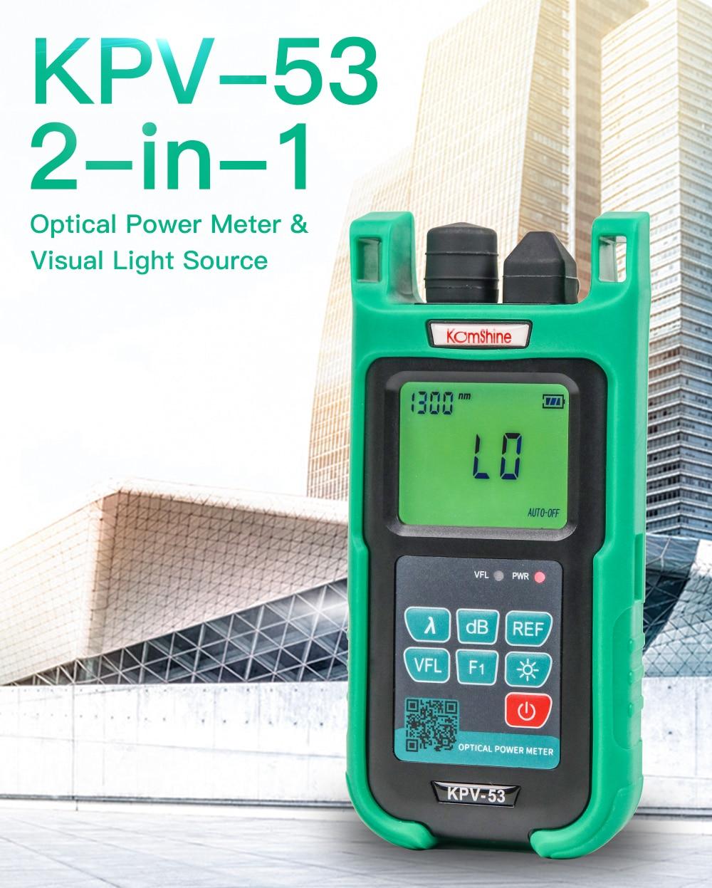 Komshine_KPV-53_Fiber_optical_power_meter_equal_to_EXFO_power_meter_13