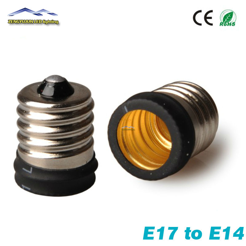 E17 To E14 Female Light Convertor Socket Small Screw Bulb