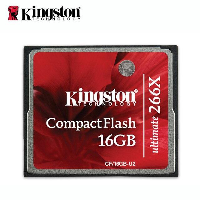 Kingtson Ultimate 266x CompactFlash CF карты памяти 16 г tarjeta sd