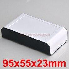 Настольных Приборов Проекта Корпус Box Дело, черно-Белый, 95x55x23 мм.