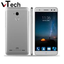 Оригинал ZTE Blade A2 MTK6750 Octa Ядро 4 Г LTE Смартфон 5.0 дюймов HD 2 ГБ + 16 ГБ Android 5.1 13MP Dual SIM Touch ID Мобильный телефон
