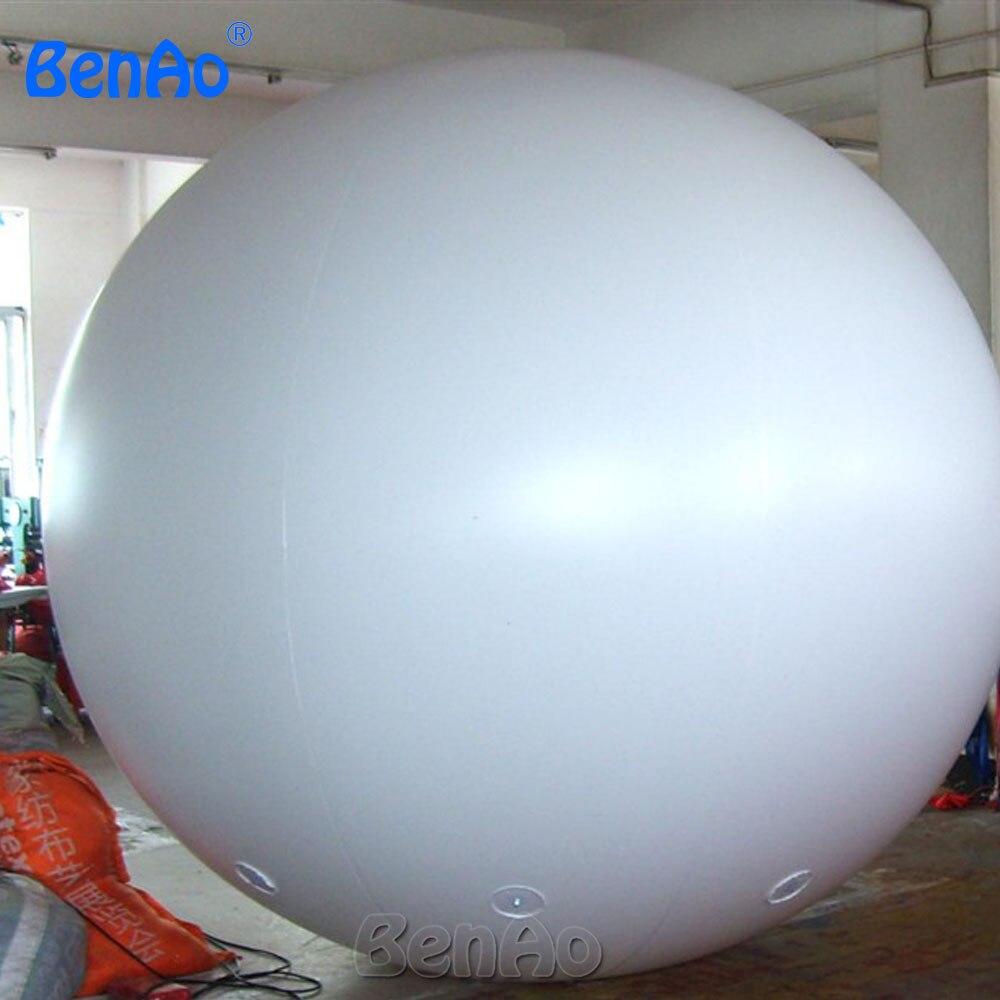 AO058N 2 M vente chaude publicité gonflable Hélium Ballon Balle PVC hélium balioon/gonflable sphère/ciel ballon pour vente