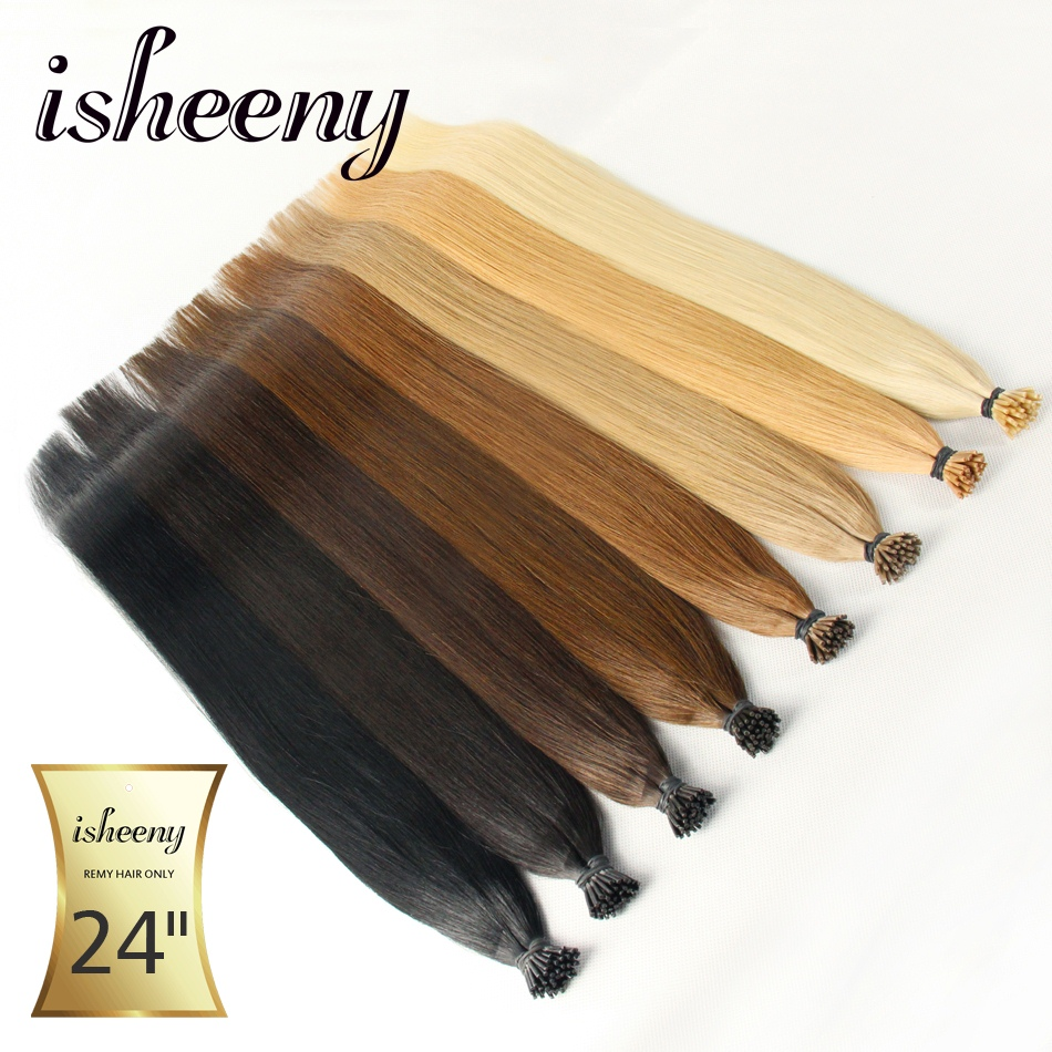 Isheeny Remy Pre Bonded Hair Extensions 1g / pc 20