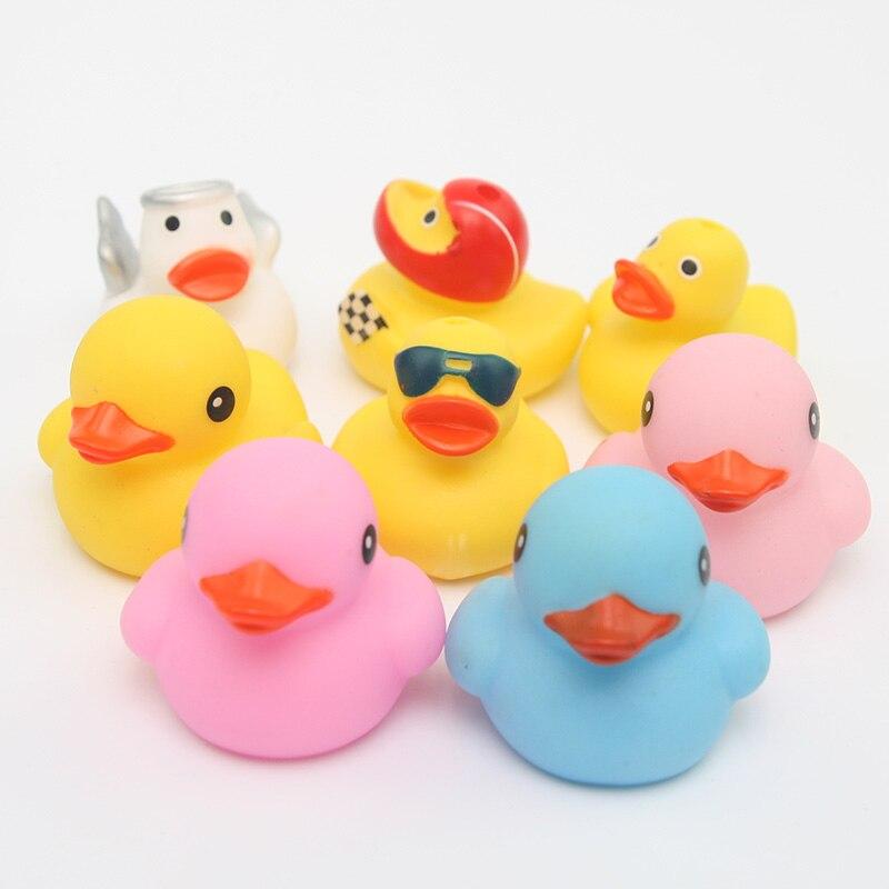 Patos Lindo Juguetes Juego Agua 8 Nuevo Baño Flotantes Bebé Colores Pato Piezas2018 De xsBtrdhQC
