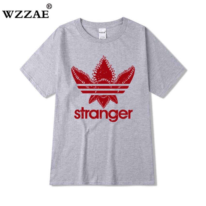 Mens t shirts fashion 2019 Stranger Things Men T Shirt 2018 Cotton Short Sleeve Men Fashion Shirt Tops Tees Men's T-shirt