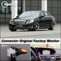 Cámara del coche Conectar La Pantalla Original de Fábrica/Monitor Para Mercedes Benz MB W212 E Clase Alta Calidad de Visión Trasera Cámara de Copia de seguridad